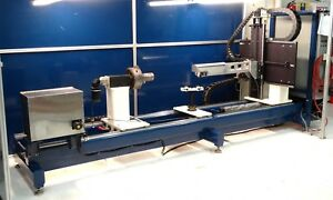 Large Format 5 Axis Cnc Machine Power And Control For Cutting Or Welding