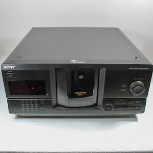 Sony Cdp cx220 Mega Storage 200 disc Black Cd Changer With Remote