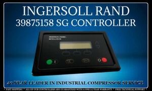 Ingersoll Rand 39875158 Sg Intellisys Controller With One 1 Year Warranty