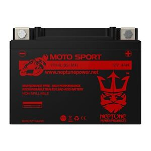 Replacement Ytx4l bs Battery For Motorcycle Scooter Atv By Neptune