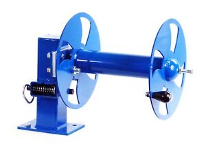 10 Welding Lead Cable Reel Single Blue