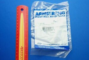 New Armstrong Usa Made 1 4 Full Polish 12 Point Chrome Long Combo Wrench 25 208