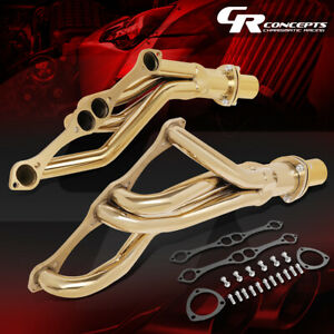 J2 Stainless Exhaust Header Manifold For 64 88 Chevy pontiac buick 265 400 Sbc
