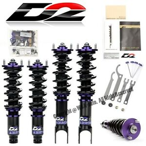For 03 06 Mitsubishi Outlander Fwd Racing Rs Suspension Coilovers