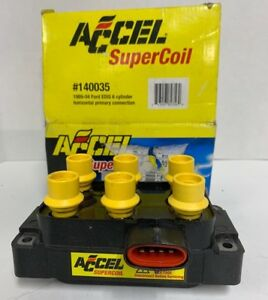 Accel 140035 Ignition Coil Coil Pack Design Direct Fit