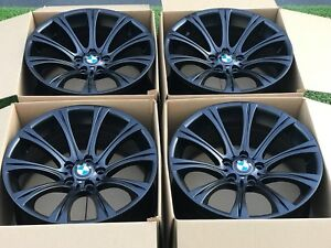 19 Bmw M5 Bbs Wheels Rims Black Factory Oem M5 E60 19
