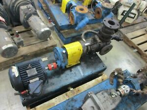 Viking Pump Kk224a 5hp Motor 100gpm 200psi Used