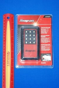 Snap On Tools Red Pocket Work Light 12 Led 100 Lumens New Ships Free