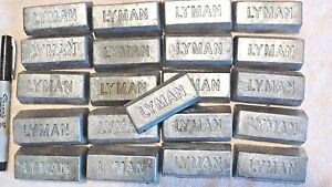60 lbs of clean lead Ingots - For casting bullets sinkers jigs Bh 10-12
