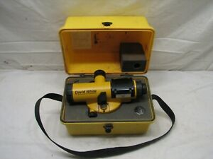 David White 22x Model 8883 Automatic Builders Auto Level Sight Tool Al8 22s