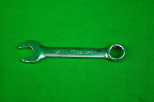 Snap On Oxi14 7 16 Stubby Sae Combination Wrench 12 Pt