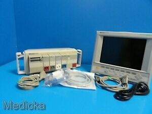 Hp Viridia 24c M1205a Patient Care Monitor h04 B 0 Options sdn Co Co2 14579