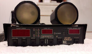 Kustom Signals Ka Band Golden Eagle Police Radar Unit With Handheld Remote