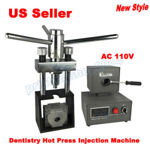 110v Dental Flexible Invisible Denture Dentistry Hot Press Injection Machine