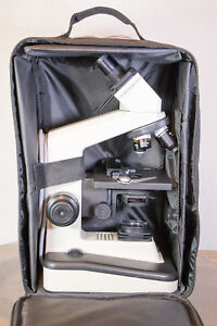 Vinyl Carrying Case For Compound Binocular Microscopes