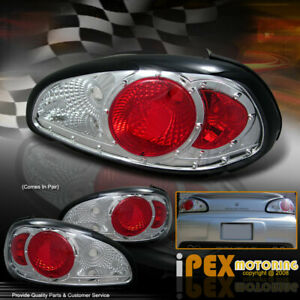 1997 2003 Pontiac Grand Prix Gt Gtp Se Chrome Tail Lights Brake Lamps