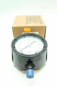 Ashcroft 45 1279 as 04l 200 Pressure Gauge 0 200psi 1 2in Npt