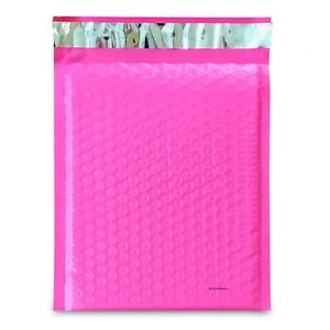 0 Pink Poly Bubble Mailers Envelopes Bags 6x10 Extra Wide Cd Dvd 6x9 25 100 250