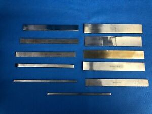 Set Of 11 Straight curved Lambotte Osteotomes Neuro Spine 30 Day Warranty