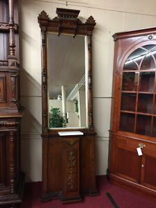 Antique Victorian Pier Mirror Wow Almost 8 Feet Tall Delivery Available