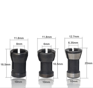 Conversion Sleeve For Chuck Of Woodworking Milling Cutter One Set Collets