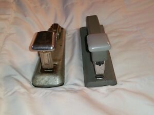 Bostitch Arrow Vintage Stapler Lot Bostitch B5b Arrow 202 Metal Made In Usa