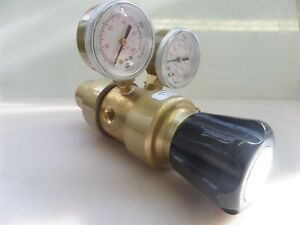 Vwr 55850 476 Brass Pressure Gauge Regulator Ar He N2