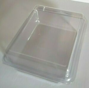 Clear Clamshell Pack Plastic Hangable Packaging Hang Tag 180 Pcs Large Size
