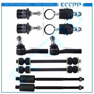 Suspension 10x Ball Joints Tie Rods Sway Bars Kit For 2002 2005 Ford Explorer