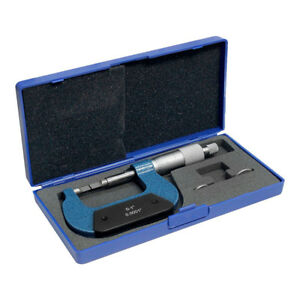 0 1 Inch Blade Outside Micrometer Solid Metal Frame Graduation 0001 Inch