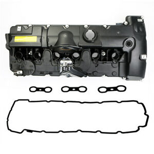 Cylinder Head Valve Cover W Gasket Set For Bmw N52b 325i 525i X3 X5 L6 3 0l N A