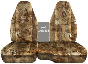 1991 2018 Ford Ranger Car Seat Covers 60 40 Kryptek Camouflage Tan Color