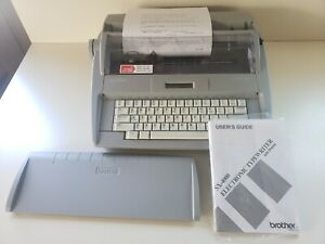 Brother Sx 4000 Electronic Typewriter Excellent Condition A W Cover