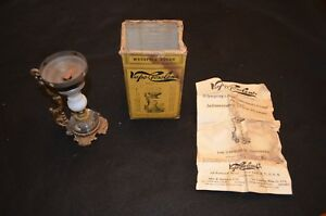 Antique Cresolene Vaporizer With Box Instructions Whooping Cough Asthma Croup