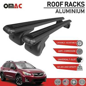Roof Rack Cross Bars Carrier Rails Alu Set For Subaru Xv Crosstrek 2013 2017