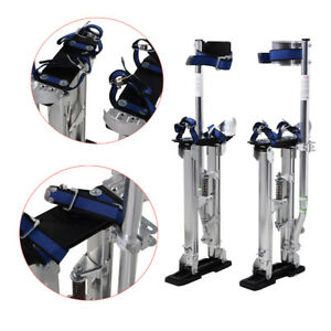 Professional 24 To 40 Silver Drywall Stilts Highest Quality Taping Finishing