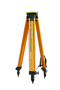 Aluminum Tripod For Survey Instrument Total Station Level