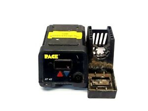 Pace St 45 Digital Senatemp Soldering Controller Station With Tool Stand