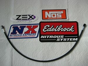 Look Mom Blackout New 3an 3an 24 Nitrous Or Fuel Line Hose Nos Nx Zex 1 Line