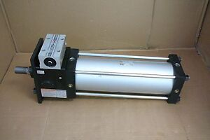 Cdlsf125 350 Smc Pneumatic Air Locking Large Bore Cylinder Cdlsf125350