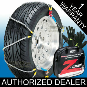 Scc Z Chain 285 70r15 Tire Chains New Cable Snow Chains 285 70 15