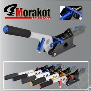 New Universal Aluminum Racing 12 Hydralic Handle E Brake Brake With Pump Blue