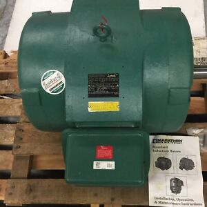 Marathon He Electric Motor 100 Hp 3550 Rpm 365ts Frame Ships By Freight