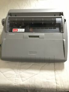 Brother Sx 4000 Electronic Lcd Display Typewriter W Case Working