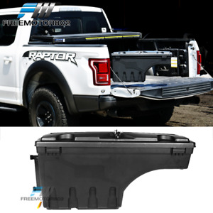 Fits 15 19 Ford F150 Abs Truck Storage Box Swing Case Toolbox Driver Side