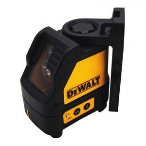 Dewalt Cordless Cross Line Laser Level Dw088cg Green 20m Measuring Distance