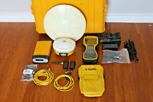 Trimble Sps851 Sps881 Gps Gnss Glonass Rtk Base Rover Receivers W Tsc3 Scs900