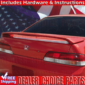 1997 2001 Honda Prelude Factory Style Spoiler Wing W Led Unpainted