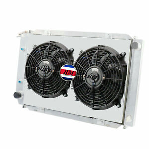 Aluminum Radiator For 1979 1993 Ford Mustang 5 0l V8 3row Shroud Fans