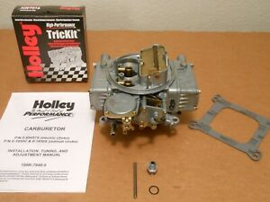 Rebuilt Holley 1850 9 600cfm Universal Replacement Ford Chevy 302 327 350 351